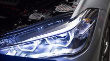 Viel Licht, kein Schatten: ADAC testet LED-Scheinwerfer