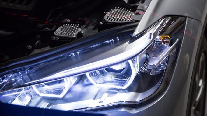 LED-Scheinwerfer haben bei einem Test des ADAC besonders gut abgeschnitten.