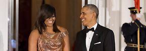 ... wer mit 52 Jahren ein goldenes Pailettenkleid mit solcher Selbstironie trägt, hat Applaus verdient.