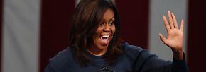 ... Michelle Obama wird als heiße Nachfolgerin für die derzeitige US-Präsidentschaftskandidatin Hillary Clinton gehandelt.