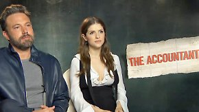 "Anna Kendrick & Ben Affleck im Interview: ""The Accountant"" löst auch Ihre Finanzprobleme"