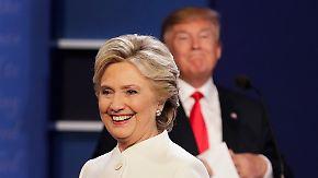 Drittes und letztes TV-Duell vor US-Wahl: Trump sorgt erneut für Aufsehen