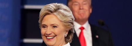 Schlechte Werte für Trump: Clinton in Umfrage so stark wie nie