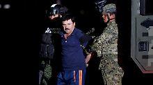 """""""El Chapo"""" brach bereits einmal aus einem mexikanischen Gefängnis aus."""