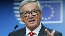 Vorgehen gegen Falschmeldungen: Juncker schaut Facebook auf die Finger
