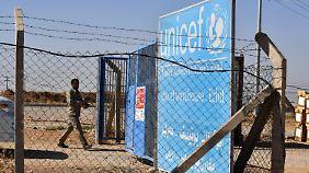 Ein Unicef-Warenlager im irakischen Erbil.