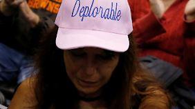 """Trump-Anhänger sind stolz darauf, """"deplorable"""" zu sein - bemitleidenswert."""