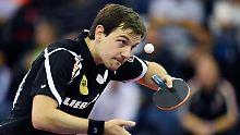 Tragischer Held Boll holt EM-Bronze: Tischtennis-Gold für deutsches Doppel