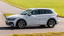 Fahrwerk runter, Leistung rauf: Kraftkur für den VW Tiguan