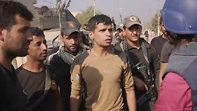 Antonia Rados berichtet von der Front: Spezialeinheit bereitet sich auf Häuserkampf in Mossul vor