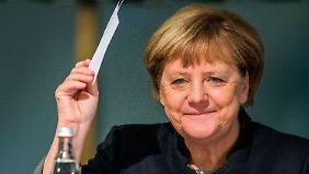 Erneute Kanzlerkandidatur 2017: CSU sendet positive Signale an Angela Merkel