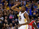 Erster NBA-Start nach Kobe: Durant soll Titel-Trumpf der Warriors sein