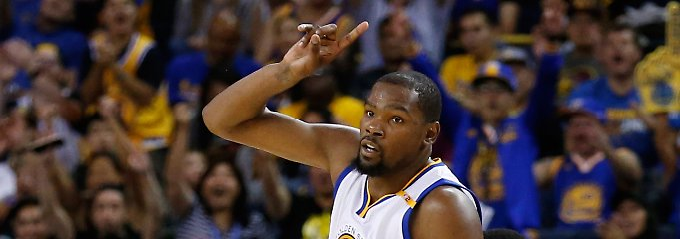 Kevin Durant ist der nächste Superstar bei den Golden State Warriors.