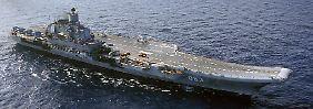 Zwischenfall vor der syrischen Küste: Nato bedrängt russischen Flugzeugträger
