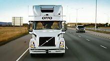 Neues Uber-Projekt: Fahrerloser Lastwagen liefert in den USA Bier aus