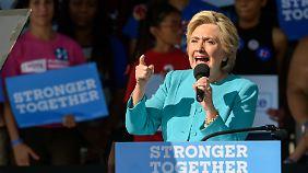 Viele Amerikaner haben kein positives Bild von Hillary Clinton. Für manche ist sie gar ein Feindbild.