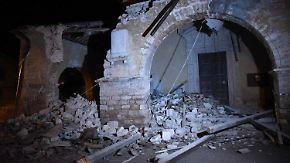Die Angst ist zurück: Erneut bebt in Mittelitalien heftig die Erde