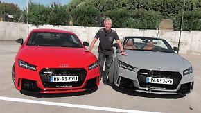 Jetzt mit 400 PS: Audi TT RS - fast zu wild für die Straße