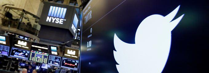Umsatz sinkt, aber mehr Nutzer: Twitter verzückt Anleger mit Kurssprung