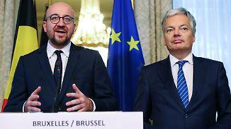 """Gabriel: """"Große Hürde genommen"""": Belgische Regionen machen den Weg für Ceta frei"""