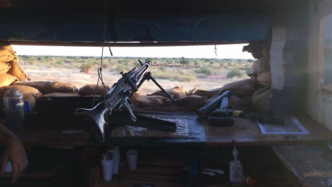 """In Mali ist es """"viel schlimmer als Afghanistan"""", sagen die Bundeswehr-Soldaten."""