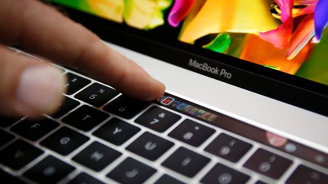 """Leichter und dünner gegen die Flaute: Neues MacBook Pro kommt mit """"Touch Bar"""""""