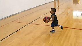 Kaum zu glauben, aber wahr: Dreijähriger dribbelt wie ein Profi