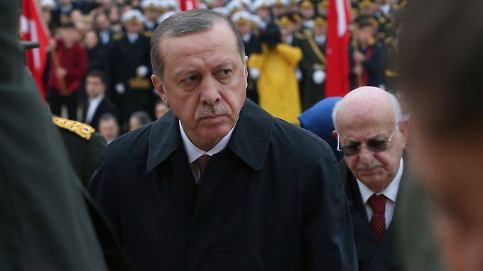 Erdogan will hart gegen seine Widersacher vorgehen.