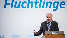 Bedingung für erneute Koalition: Seehofer will ohne Obergrenze nicht regieren