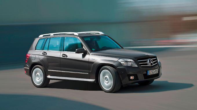 Nach der Wachablösung durch den GLC steht der Mercedes GLK noch einmal als positives Beispiel im Rampenlicht des Tüv-Reports.