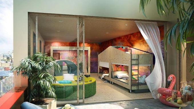 unterkunft in durchgestyltem design hippe poshtels erobern den hostelmarkt n. Black Bedroom Furniture Sets. Home Design Ideas