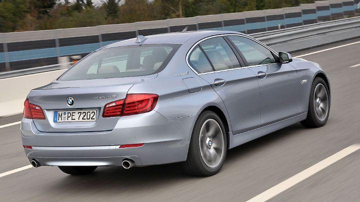 Als Hybrid bringt es der 5er BMW auf 340 PS.
