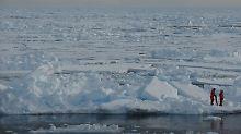 Drei Quadratmeter pro Tonne CO2: So stark schwindet Sommer-Eis in Arktis