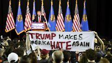 Dieser Wahlkampf hat nicht nur in der ganzen Welt für Kopfschütteln gesorgt - wie man es schon bei früheren Präsidentschaftskandidaten getan hat.