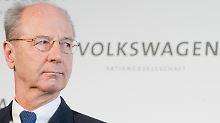 Seit Oktober 2015 ist Hans Dieter Pötsch Chef des VW-Aufsichtsrats.