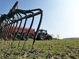 Lascher Umgang mit Gülle: EU reicht Nitrat-Klage gegen Deutschland ein