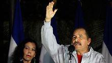 Nicaragua erlebt Farce: Ortega organisiert sich Wahlsieg