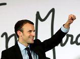 Emmanuel Macron fordert seinen ehemaligen Chef François Hollande heraus.