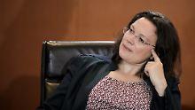 Ist davon überzeugt, bald einen Kompromiss gefunden zu haben: Andrea Nahles