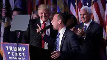 Trumps mögliches Schattenkabinett: Diese Männer regieren bald die USA