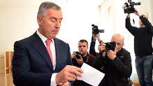 Mordversuch der Opposition?: Montenegros Präsident fürchtet Komplott