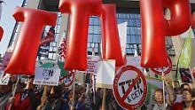 Zukunft des Freihandelvertrags: EU erwartet Pause der TTIP-Gespräche