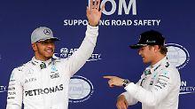 Silber vor Silber: In Brasilien deutet alles auf einen Mercedes-Zweikampf um den Sieg hin. Geht der an Nico Rosberg, ist die WM entschieden.