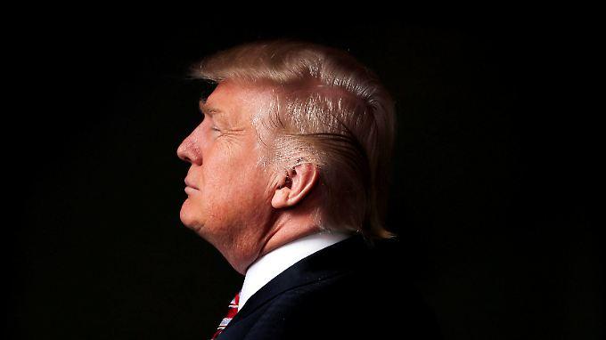 Donald J. Trump, 45. Präsident der Vereinigten Staaten von Amerika.