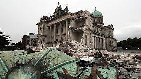185 Todesopfer im Jahr 2011: Erdbeben in Neuseeland weckt schlimme Erinnerungen