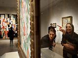 Besucher im Metropolitan Museum.