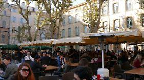 In Aix en Provence lebt man das Leben.