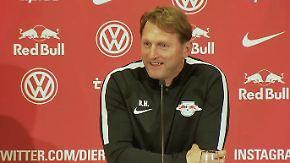 Souveräne Reaktion von Hasenhüttl: RB Leipzig bleibt gelassen nach Watzkes Dosenspruch