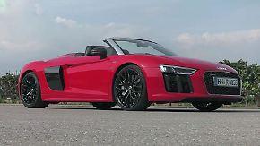 540 PS im Test: Audi R8 Spyder prescht geräuschvoll davon