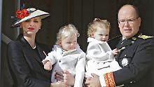 Babyparty am Nationalfeiertag: Monacos Fürstenhaus präsentiert Nachwuchs